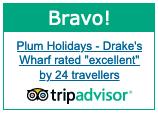 Drakes Wharf Trip Advisor Award