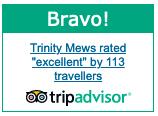 Trinity Mews Trip Advisor Award
