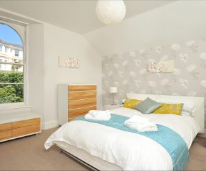 self catering accommodation bedroom