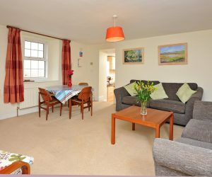 Living space in Trinity Mews