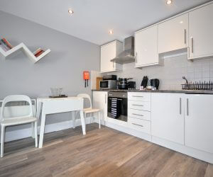 Holiday let with kitchen diner