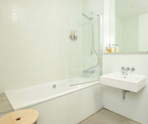 Bathroom in holiday apartment
