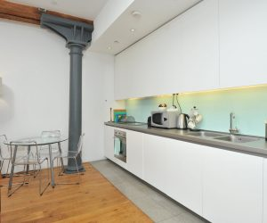 Kitchen in holiday apartment