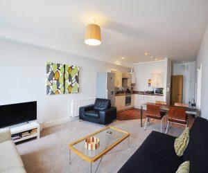 Flat 12 living area